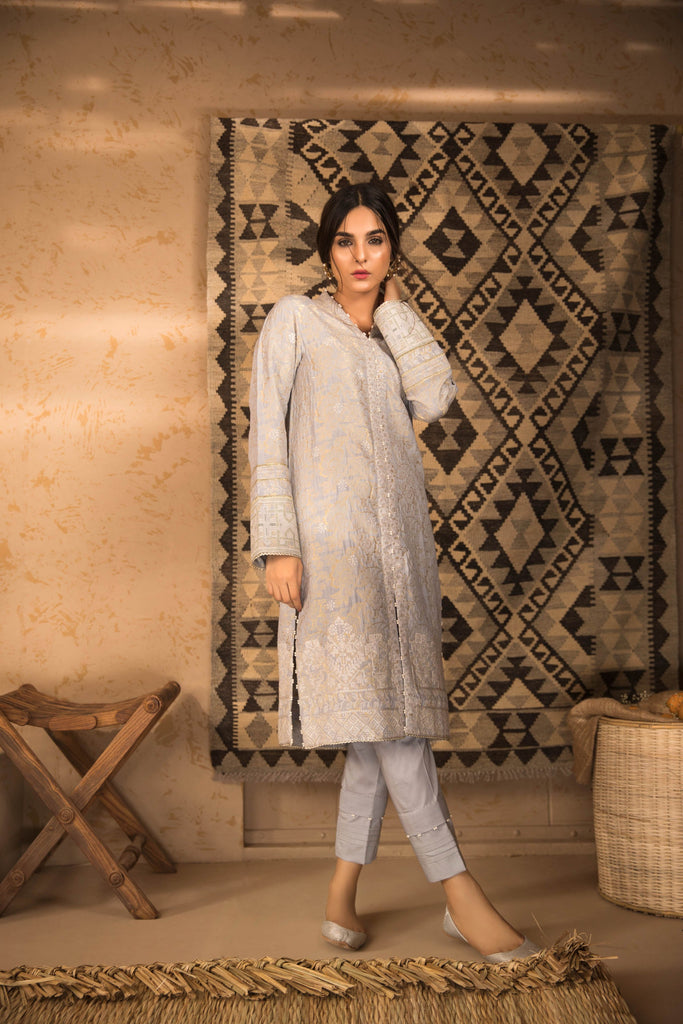 Sapphire Naqsh Dar Lawn Eid Collection Vol-V – Mist B