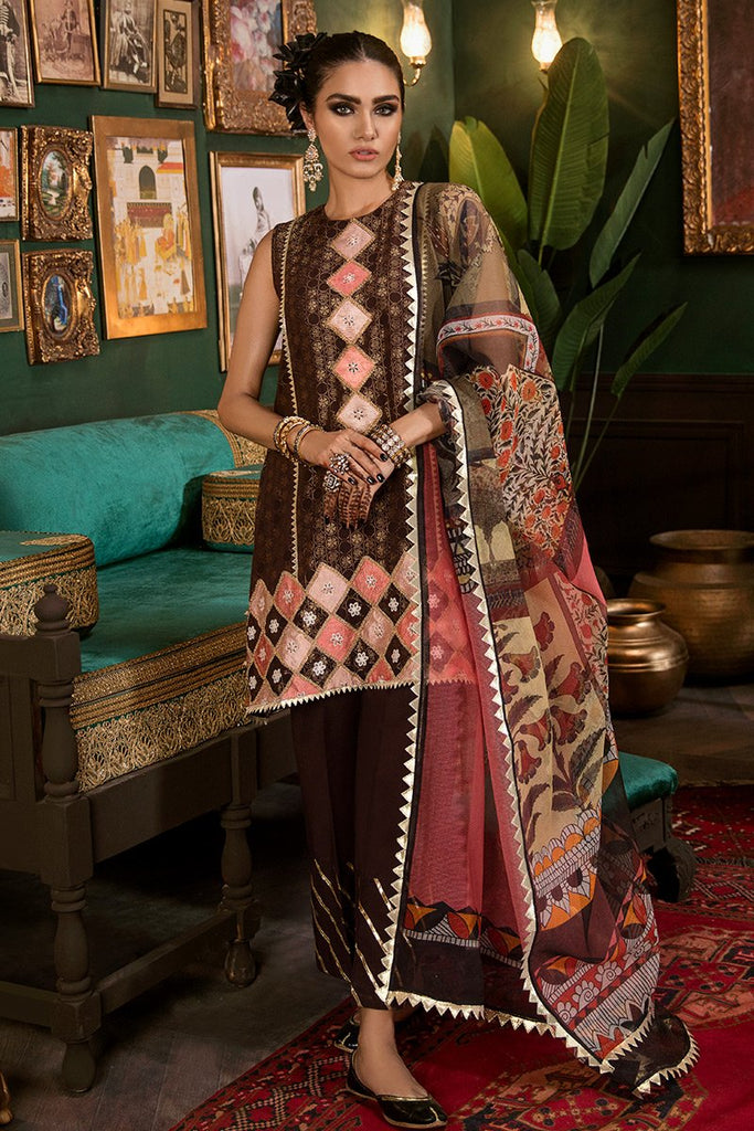 Cross Stitch Royal Secrets Jaquard Collection 2019 – Mughal Muraqqa B