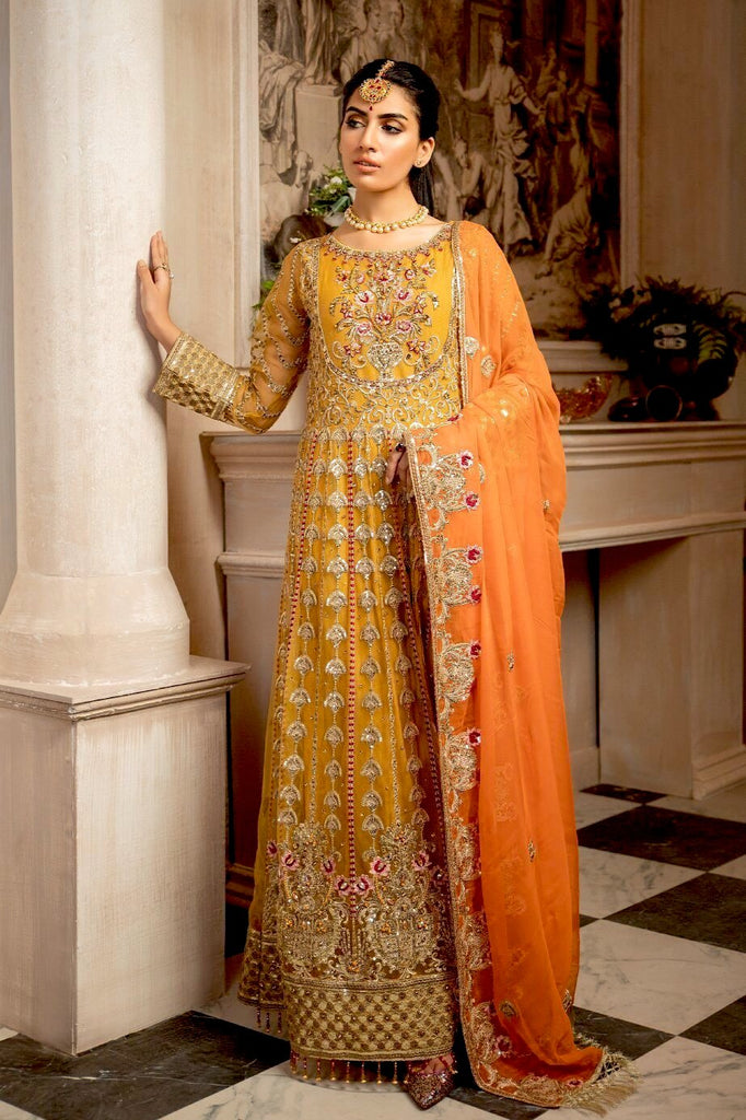 Mashq Formal Collection 2020 – KESARI (MY-01)