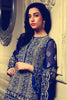 Rungrez Fleur d' Amour Embroidered Chiffon Collection - Midnight Grandeur - YourLibaas  - 1