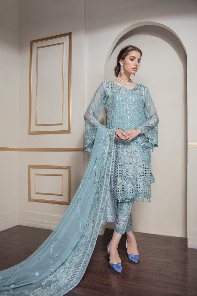 Eshaal Embroidered Luxury Chiffon Collection by Emaan Adeel – Lady Luxe