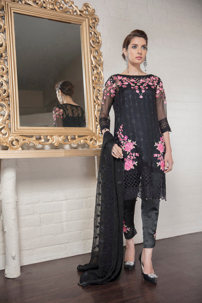 Eshaal Embroidered Luxury Chiffon Collection by Emaan Adeel – Regal Soiree