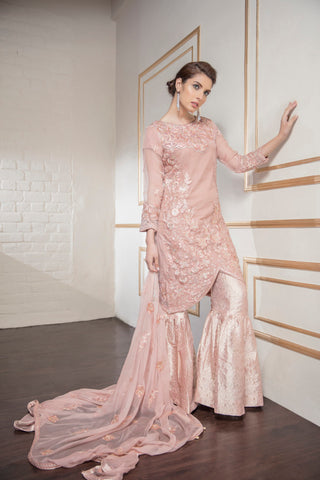 d9778b9e48 11% OFF Sold Out Eshaal Embroidered Luxury Chiffon Collection by Emaan Adeel  – Peach Galore