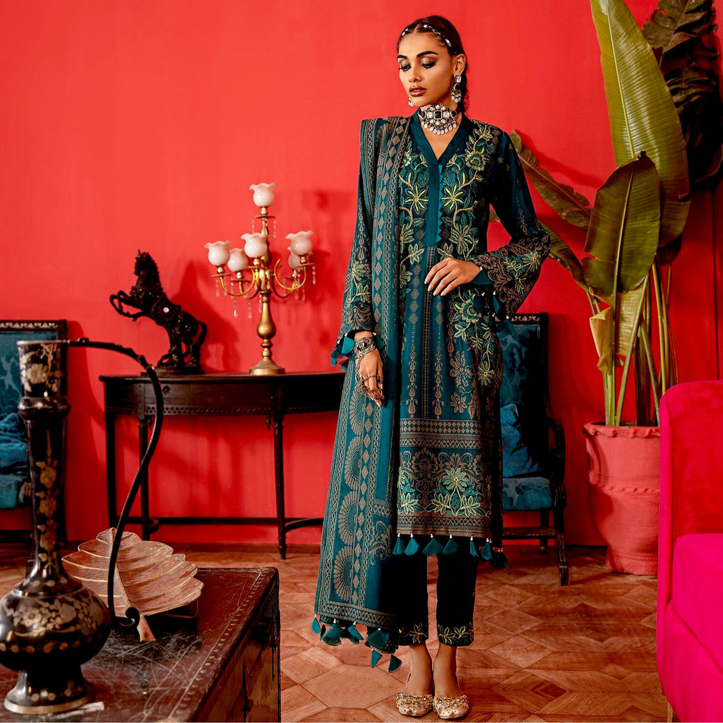 Nureh Exclusive Jacquard Collection – Taj NJ-12