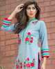 Charizma Plush Embroidered Kurti Fall/Winter Vol 1 – PK06 - YourLibaas  - 2