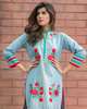 Charizma Plush Embroidered Kurti Fall/Winter Vol 1 – PK06 - YourLibaas  - 3