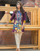 Charizma Plush Embroidered Kurti Fall/Winter Vol 1 – PK08 - YourLibaas  - 3