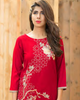Charizma Plush Embroidered Kurti Fall/Winter Vol 1 – PK12 - YourLibaas  - 3