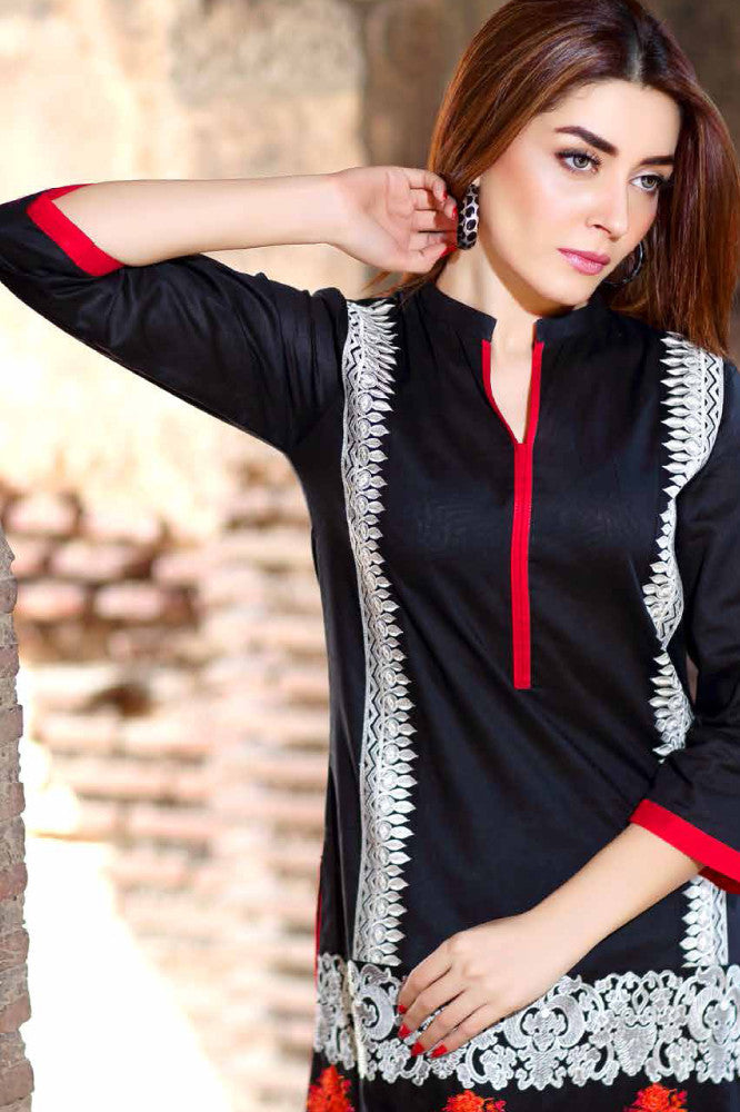 Charizma Embroidered Plush Kurtis Vol 2 – PK-72 - YourLibaas  - 1