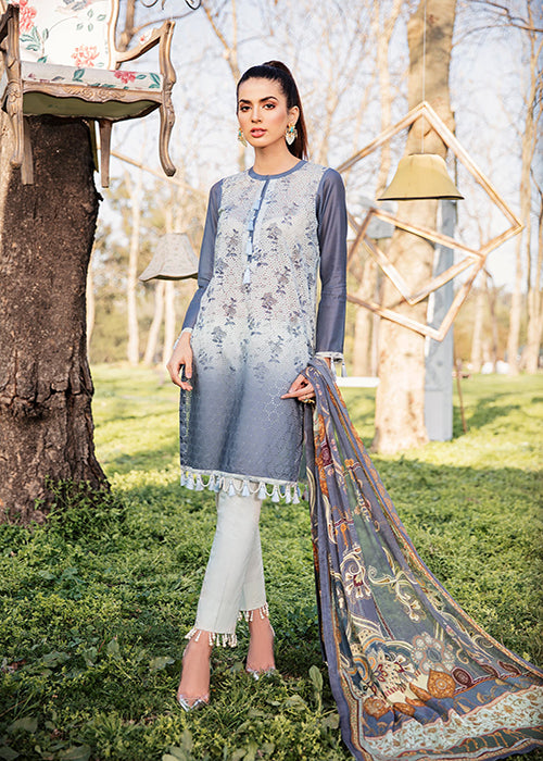 Qalamkar Qline Lawn Collection 2019 – QL-10