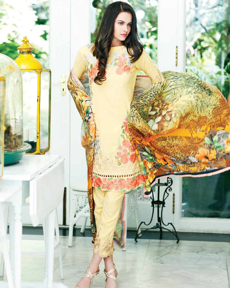 Charizma Reem Winter Collection – Condiment Style RM-01 - YourLibaas  - 1