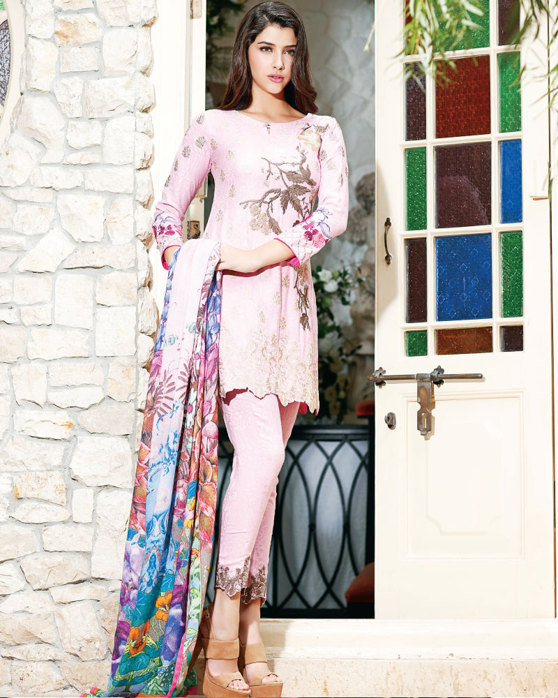Charizma Reem Winter Collection – Shining Sensation RM-09 - YourLibaas  - 1
