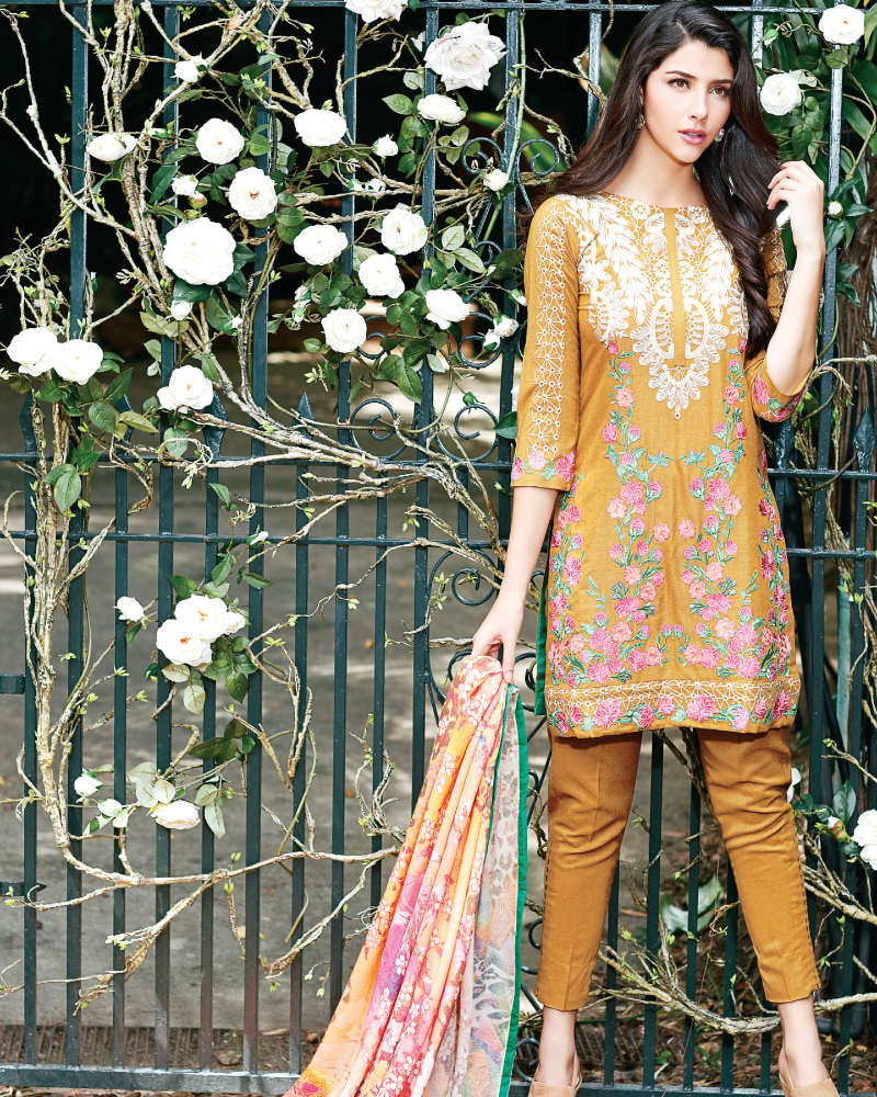 Charizma Reem Winter Collection – Perennial Charm RM-10 - YourLibaas  - 1
