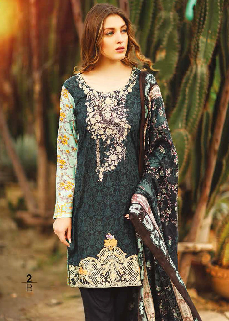 RajBari Premium Linen Fall/Winter 2016 – 2B - YourLibaas  - 1