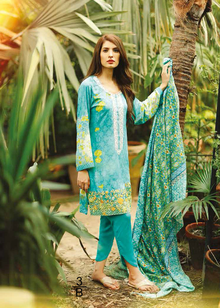 RajBari Premium Linen Fall/Winter 2016 – 3B - YourLibaas  - 1