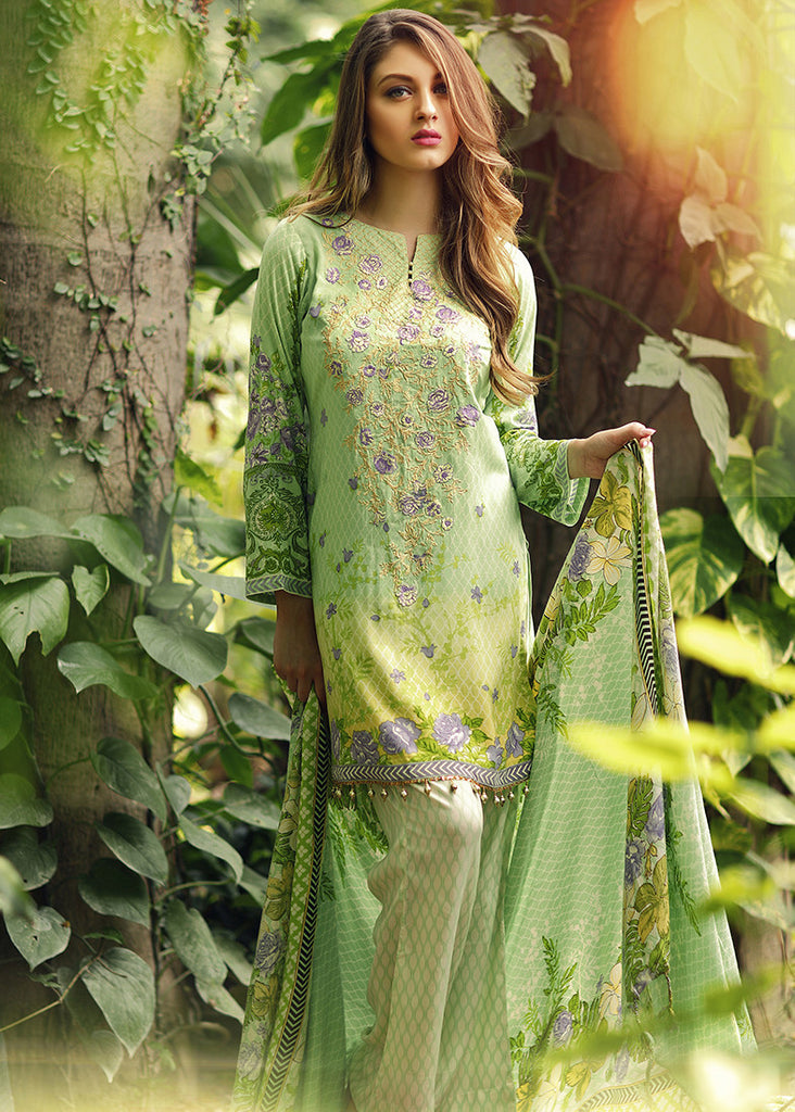RajBari Premium Linen Fall/Winter 2016 – 4A - YourLibaas  - 1