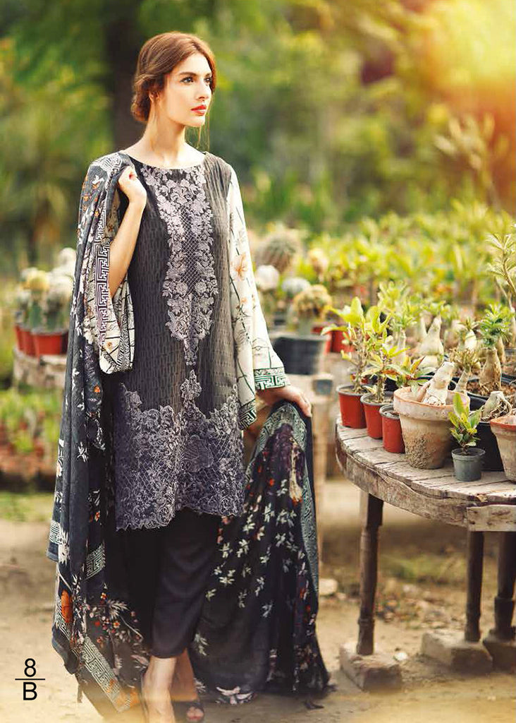 RajBari Premium Linen Fall/Winter 2016 – 8B - YourLibaas  - 1