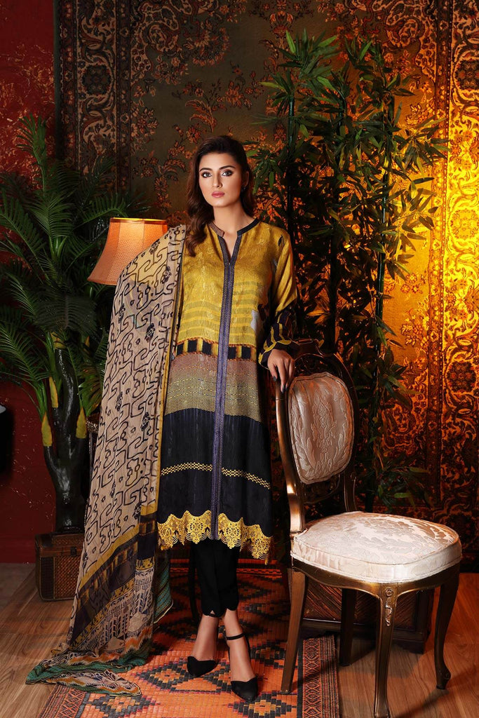 Charizma Combinations Embroidered Linen Collection – Sunshine CCW-08