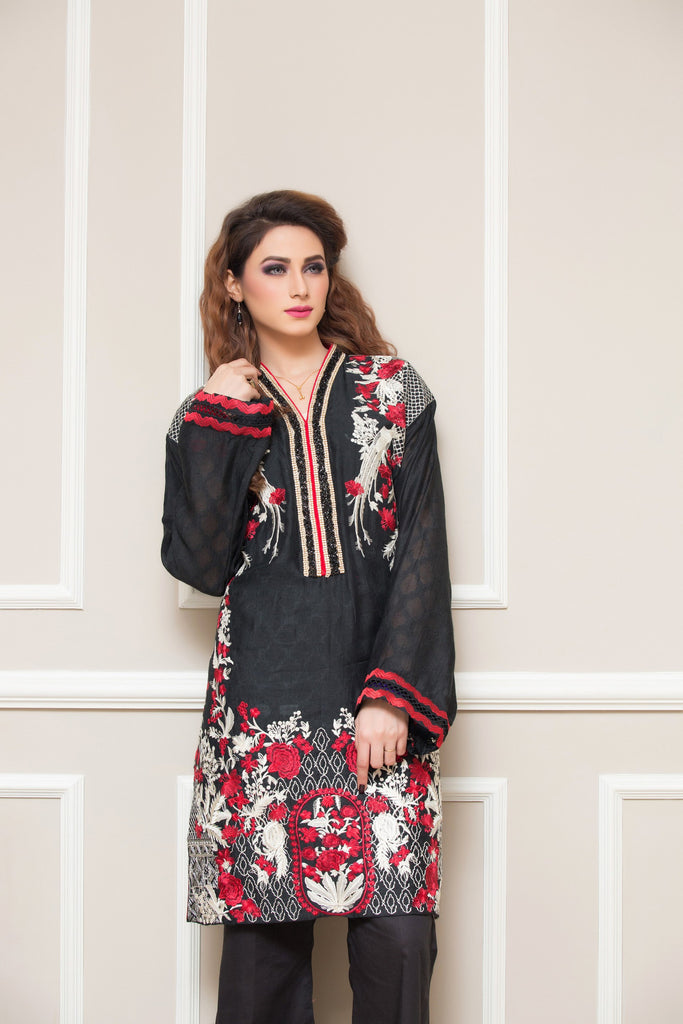 Sahil Embroidered Kurti Collection Vol-2 – 09 - YourLibaas  - 1