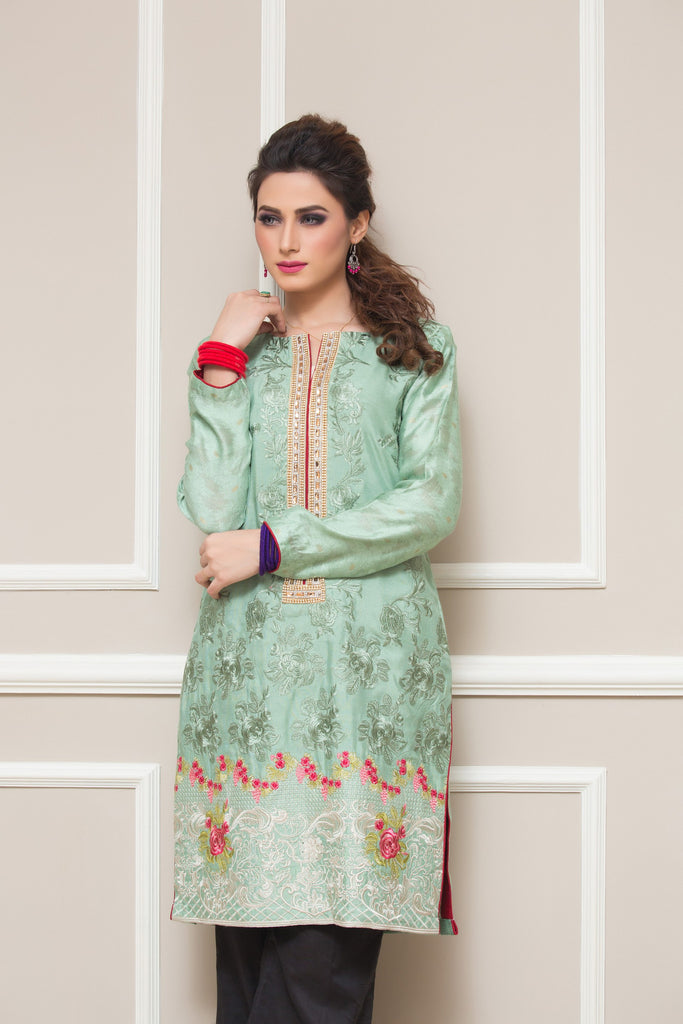 Sahil Embroidered Kurti Collection Vol-2 – 11 - YourLibaas  - 1