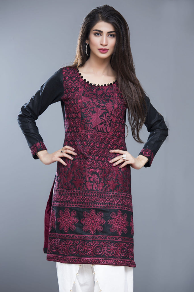 Sahil Embroidered Kurti Collection Vol-2 – 14 - YourLibaas  - 1