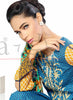 Sana & Samia Cotton Embroidered Kurti with Stole - 07 - YourLibaas  - 2