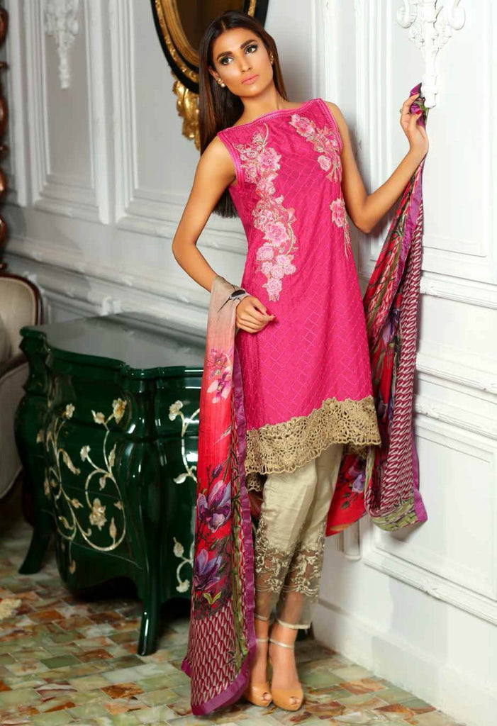Sobia Nazir Silk Collection - SN06 - YourLibaas  - 1