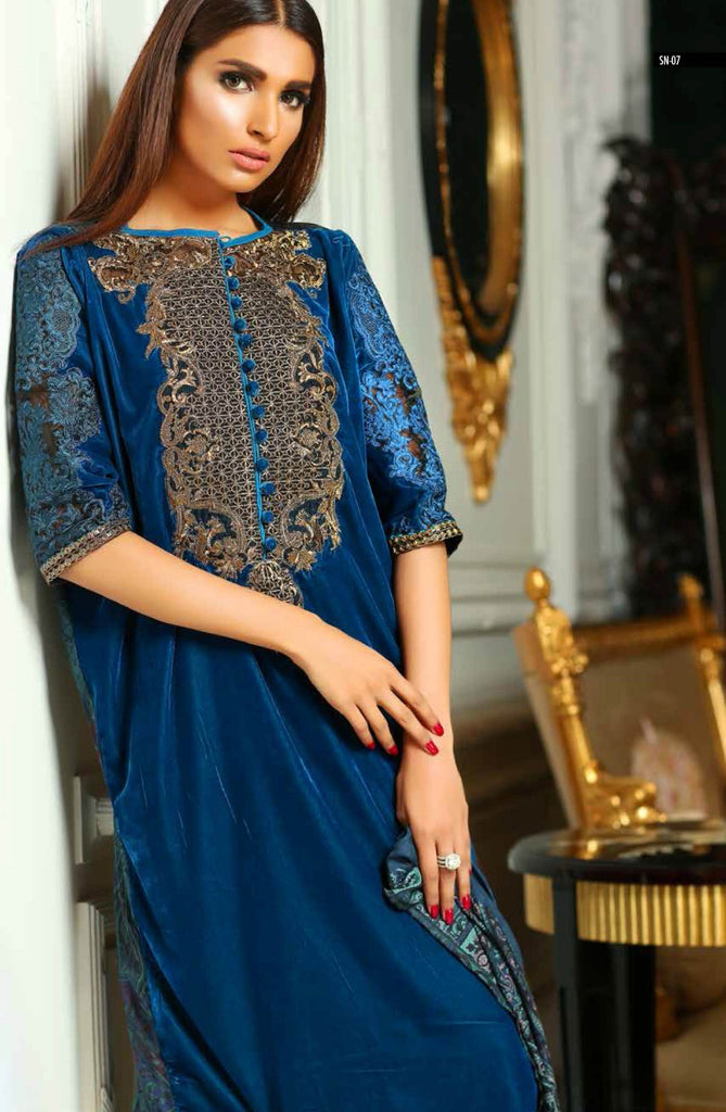 Sobia Nazir Silk Collection - SN07 - YourLibaas  - 1