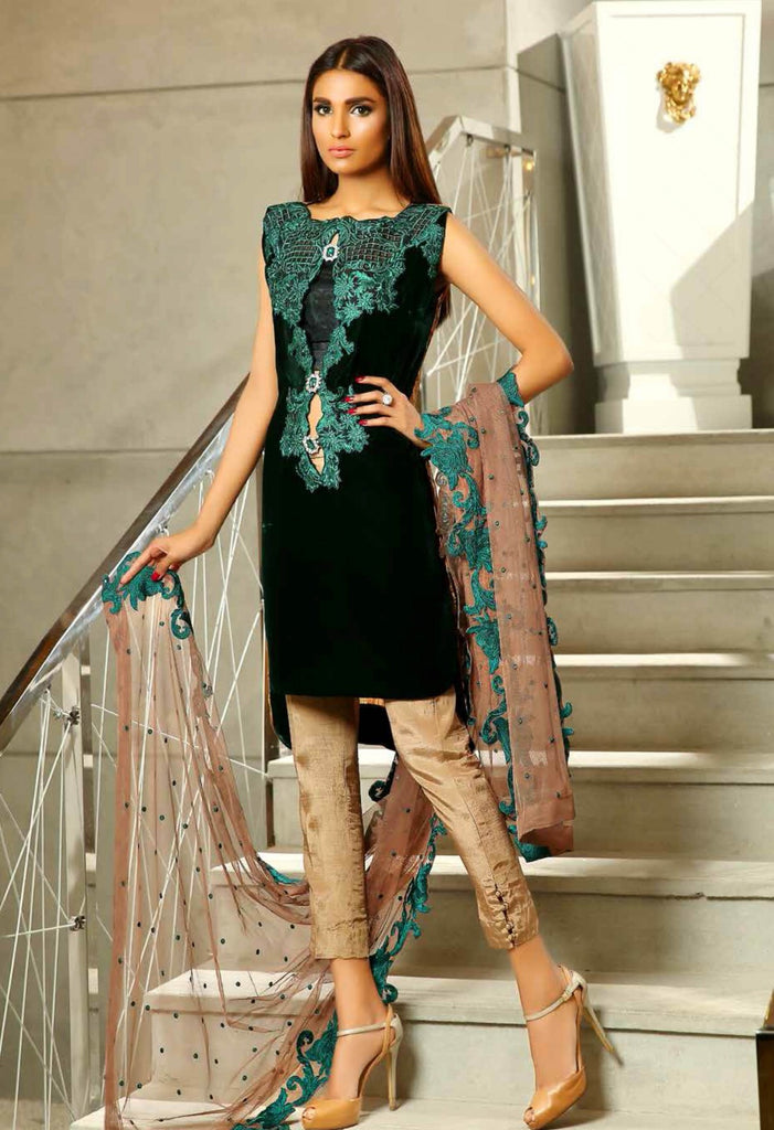 Sobia Nazir Silk Collection - SN09 - YourLibaas  - 1