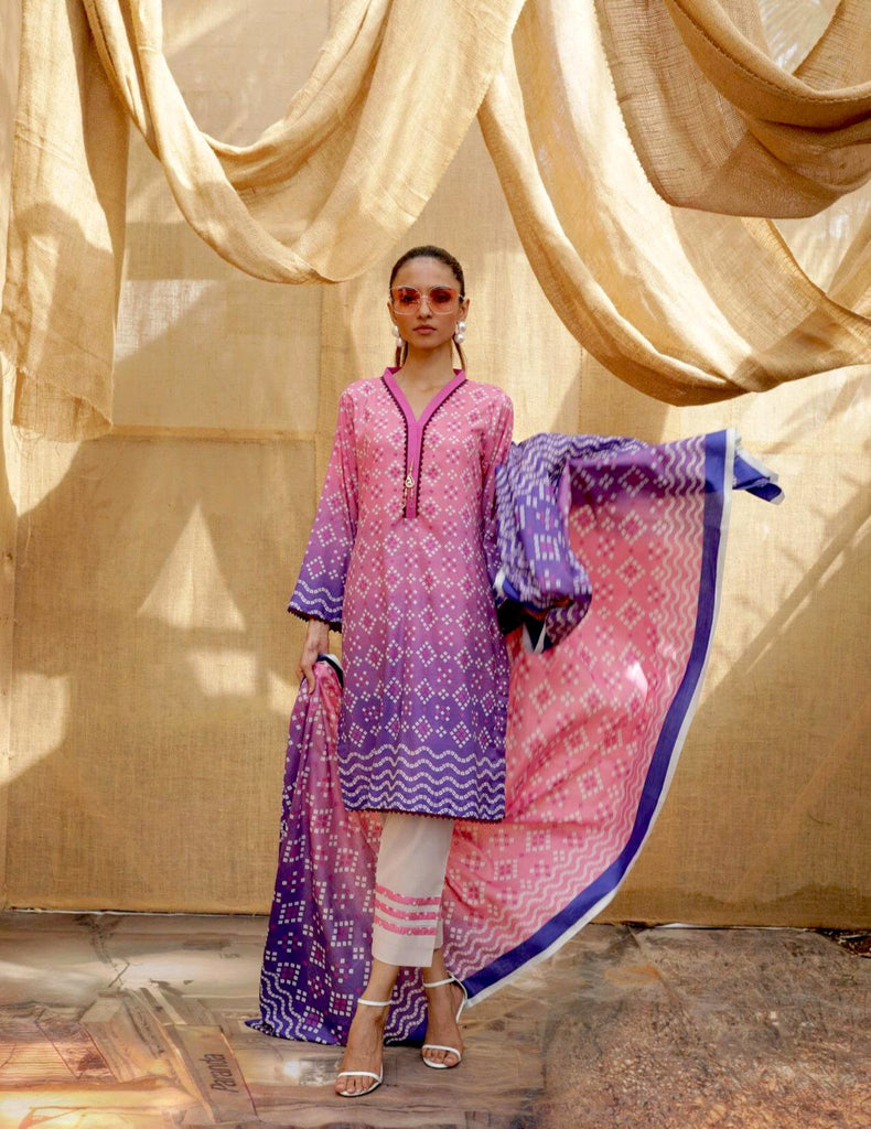 Sahil Printed Lawn Collection Vol-4 – ZS-06