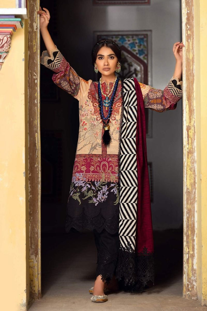 Sana Safinaz Mahay Winter Collection 2020 – 2B-Q