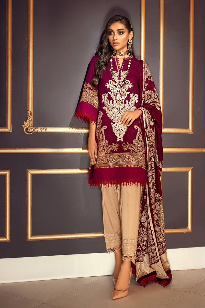 Sana Safinaz Muzlin Winter Collection 2020 – 12B-BO