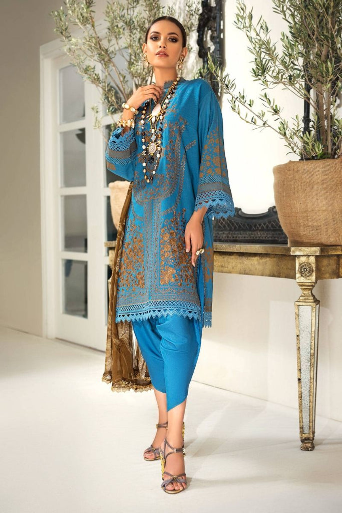 Sana Safinaz Muzlin Winter Collection 2020 – 15A-AJ