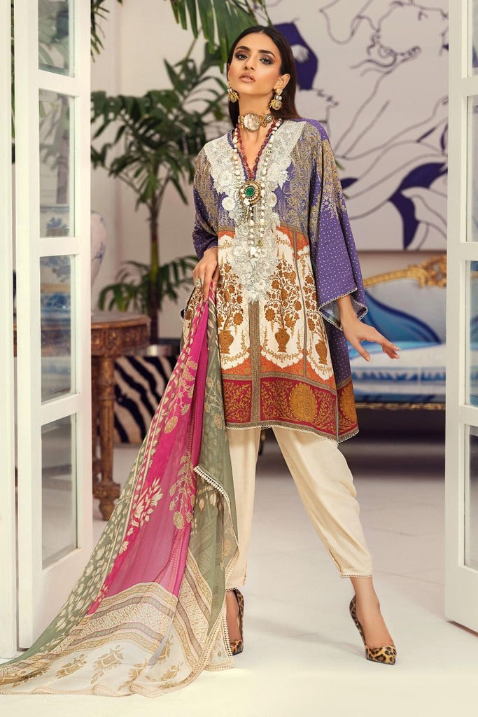 Sana Safinaz Muzlin Winter Collection 2020 – 8A-BI
