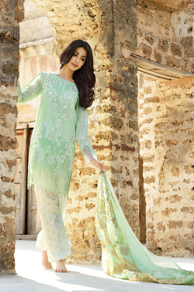 Rungrez Spring/Summer Lawn Collection 2016 – Tangled Tulip - YourLibaas  - 1