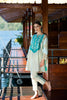Gul Ahmed Summer 2017 - Sea Green 2 PC Embroidered Lawn Dress TL-21 B