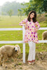 Gul Ahmed Summer 2017 - Pink 2 PC Embroidered Lawn Dress TL-63 A