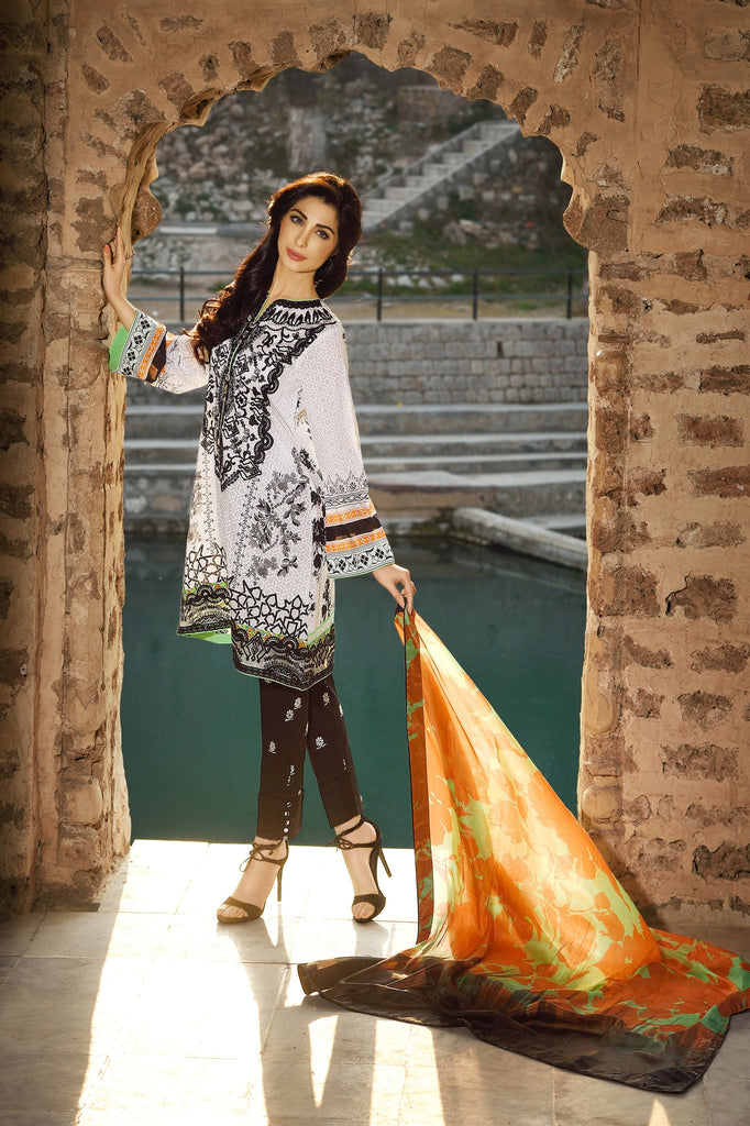 Rungrez Spring/Summer Lawn Collection 2016 – Tribal Myth - YourLibaas