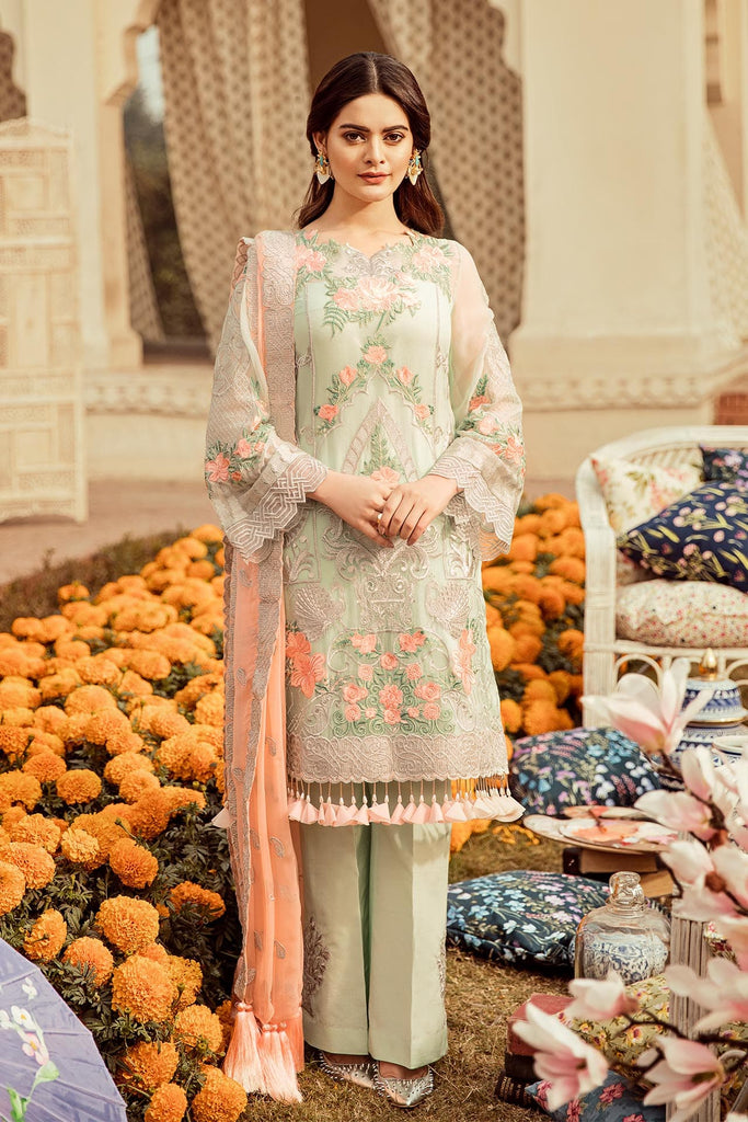 Imrozia Embroidered Chiffon Nostalgic Climax Collection 2019 – 04 - The Pastel Remix