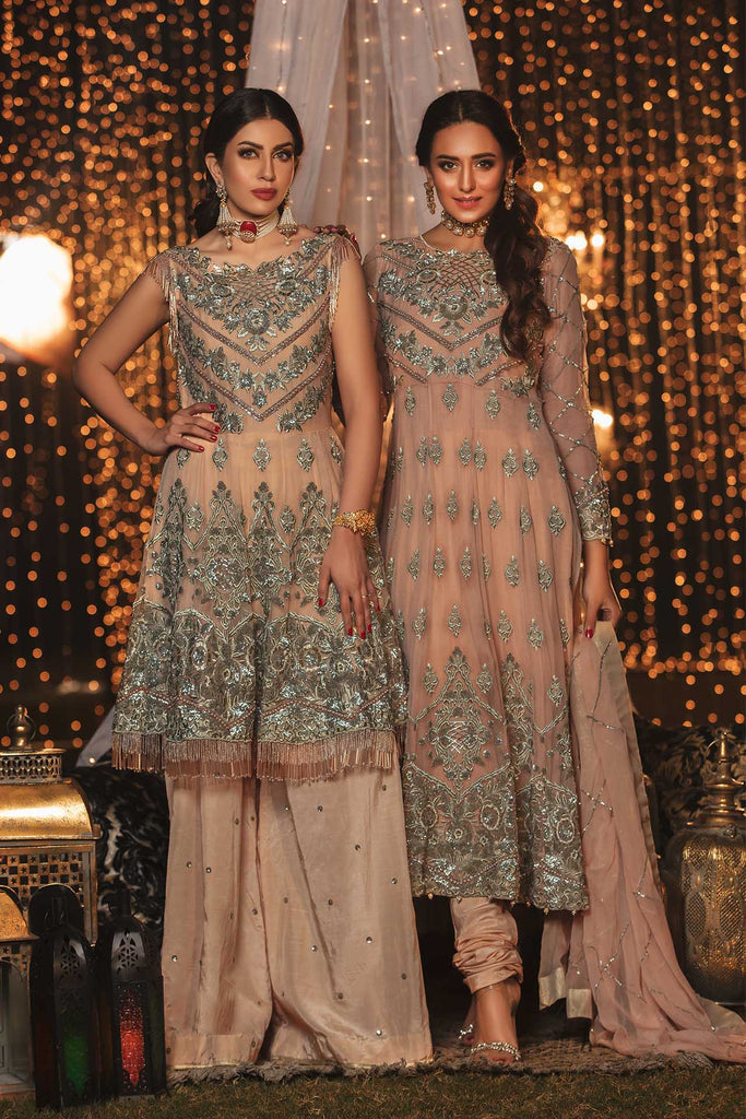 EmbRoyal Dewan-e-Khas Luxury Chiffon Wedding Collection – 04-Blush Peach