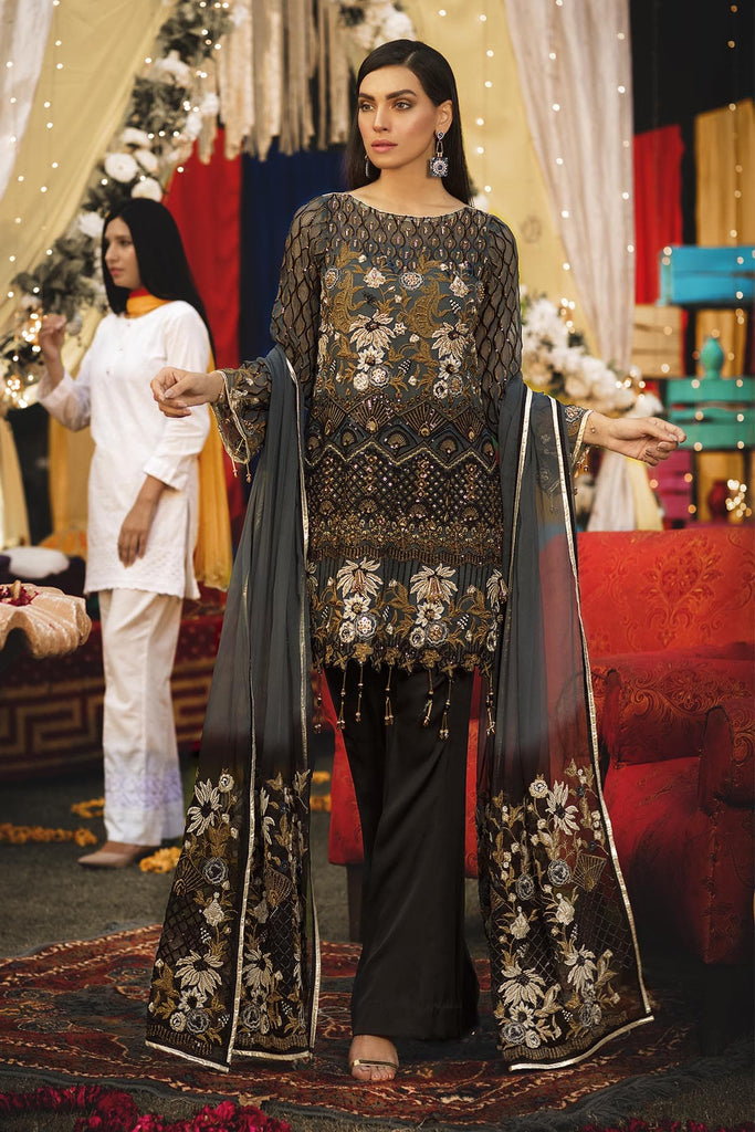Emaan Adeel Luxury Chiffon Collection Vol-6 2019 – EA-603