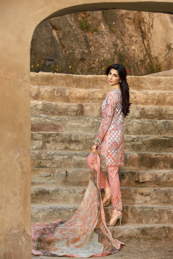 Rungrez Spring/Summer Lawn Collection 2016 – Vintage Bloom - YourLibaas  - 1