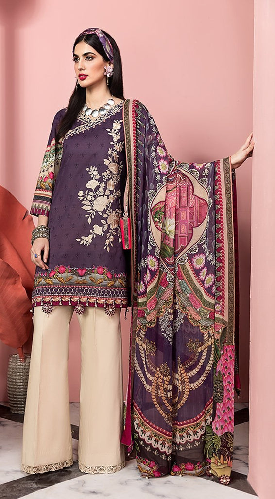 Anaya by Kiran Chaudhry – Viva Lawn Collection 2020 – 02B - VALENTINA