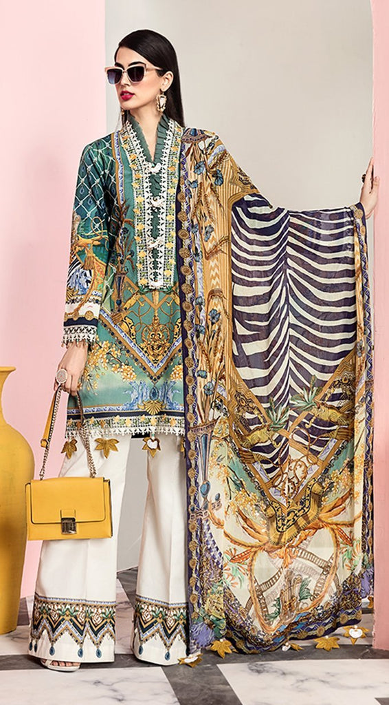 Anaya by Kiran Chaudhry – Viva Lawn Collection 2020 – 05A - NICOLA