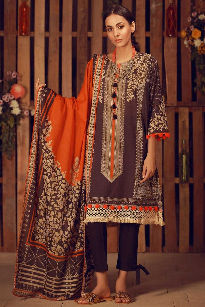Khaadi Summer Lawn Collection 2018 Vol-2 – A18205 Black