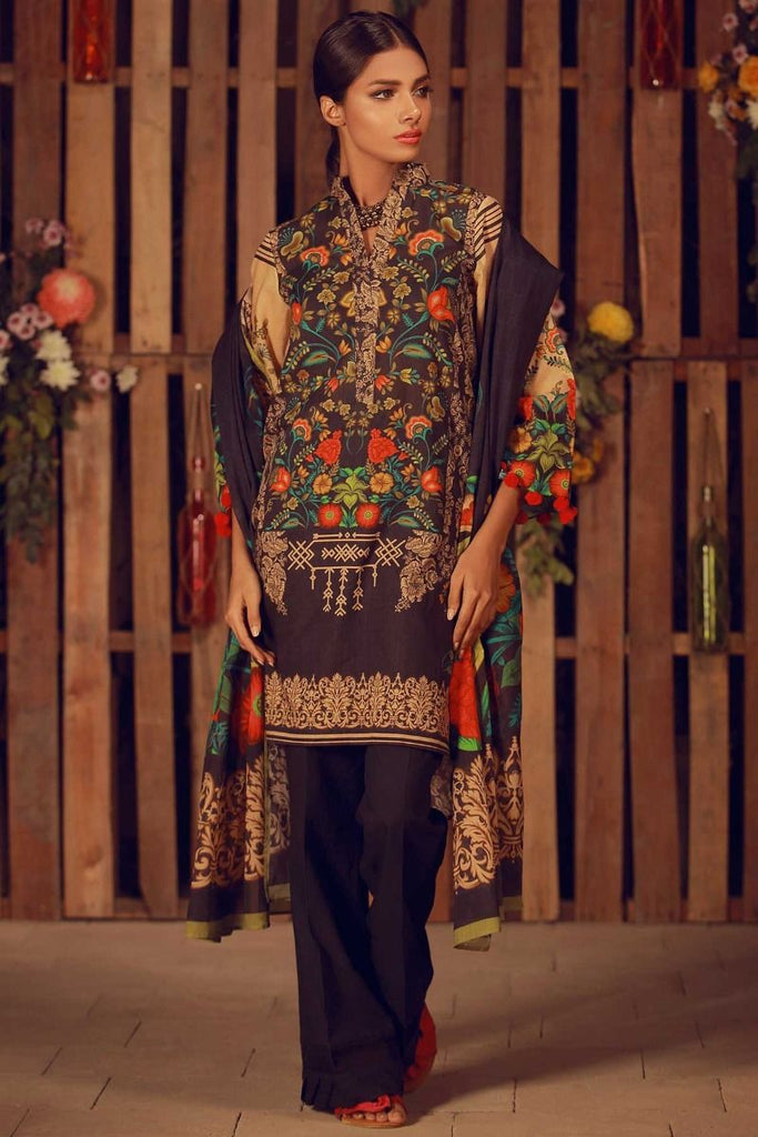 Khaadi Summer Lawn Collection 2018 Vol-2 – A18206 Black