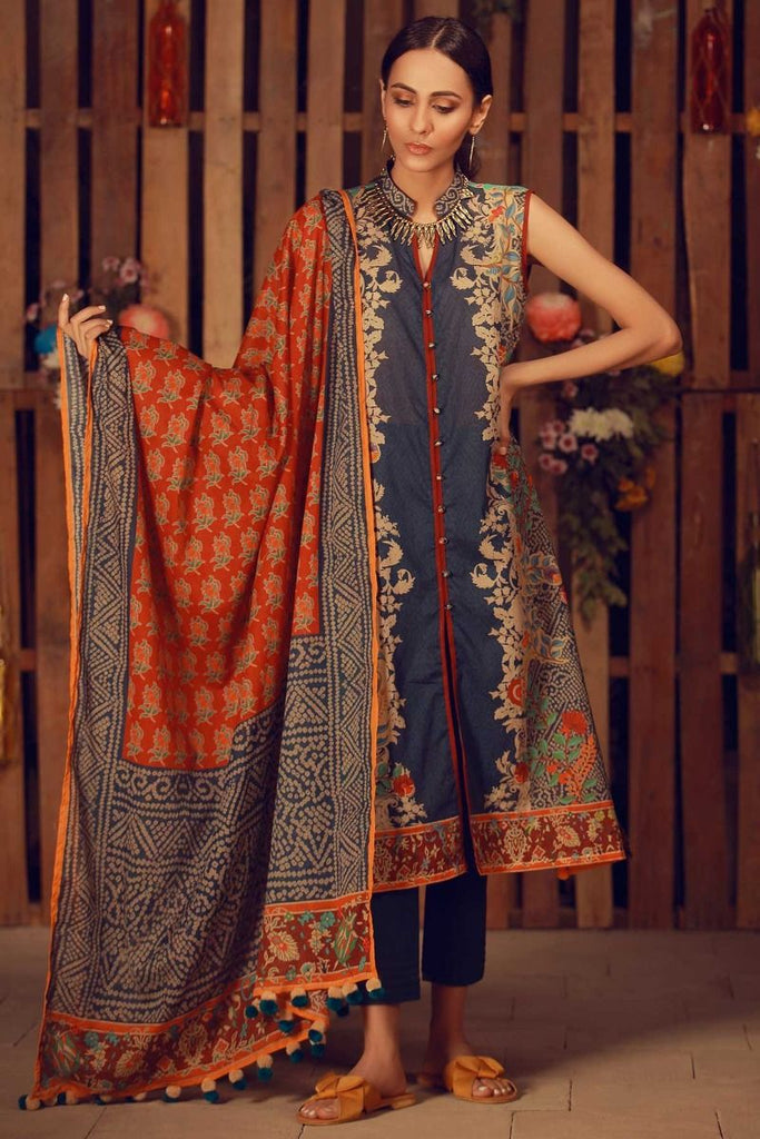 Khaadi Summer Lawn Collection 2018 Vol-2 – A18207 Blue