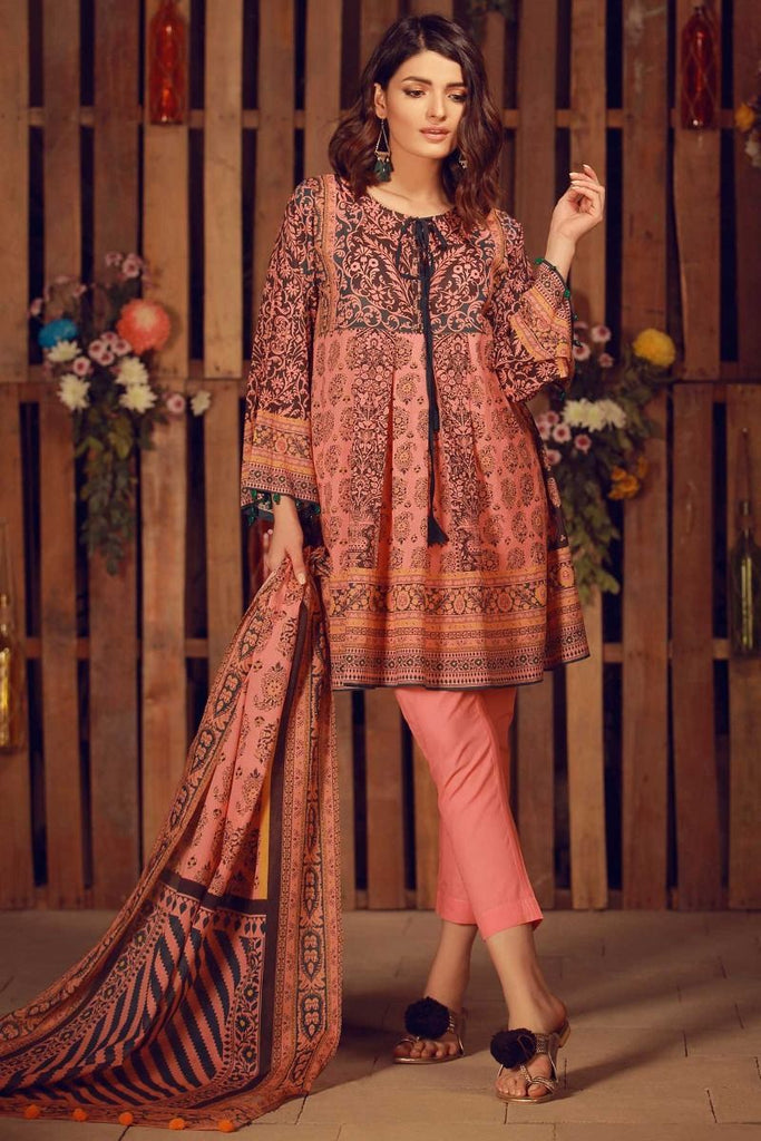 Khaadi Summer Lawn Collection 2018 Vol-2 – A18211 Pink