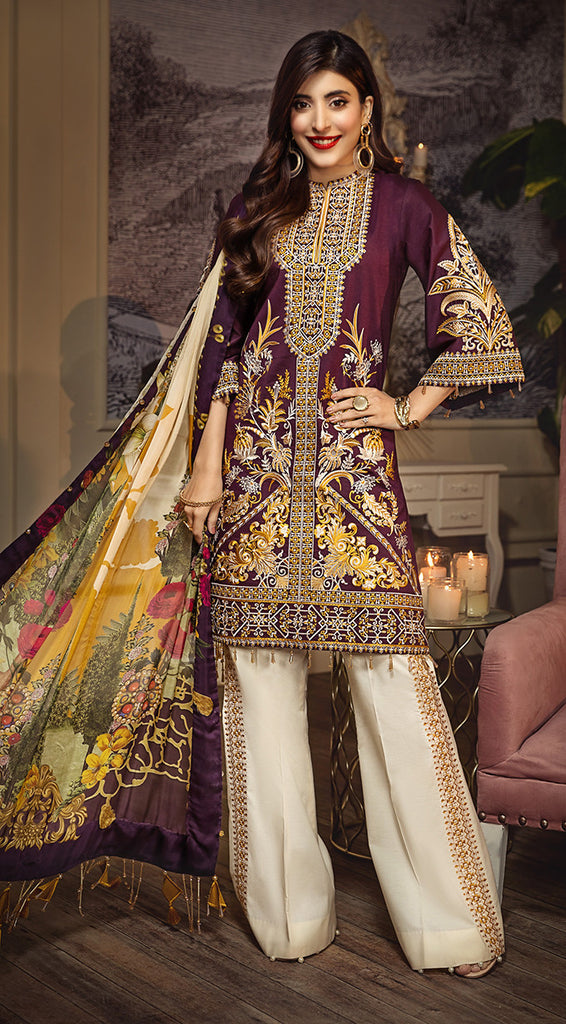 Anaya by Kiran Chaudhry – Luxury Lawn Collection 2020 – MELANIE