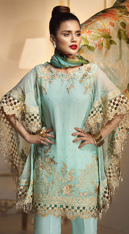 023d1e7145 24% OFF Sold Out Anaya by Kiran Chaudhry Luxury Festive Collection 2018 –  Aqua Fanfare ALF-03